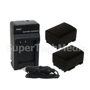 2-Decoded-Battery-Charger-FOR-CANON-BP-808-FS10-FS11-FS100-FS20-BP-819-BP-809