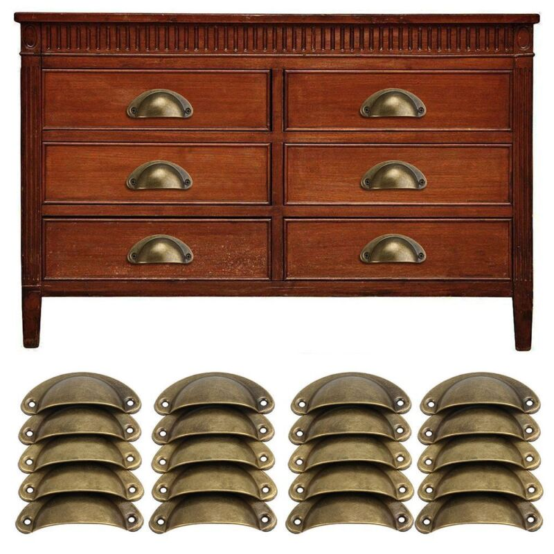 Shell Pull Handles Kitchen Cabinet