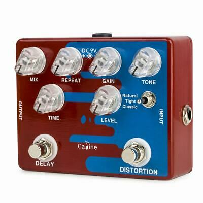 CP-68 Distortion and Delay Guitars Effect Pedal