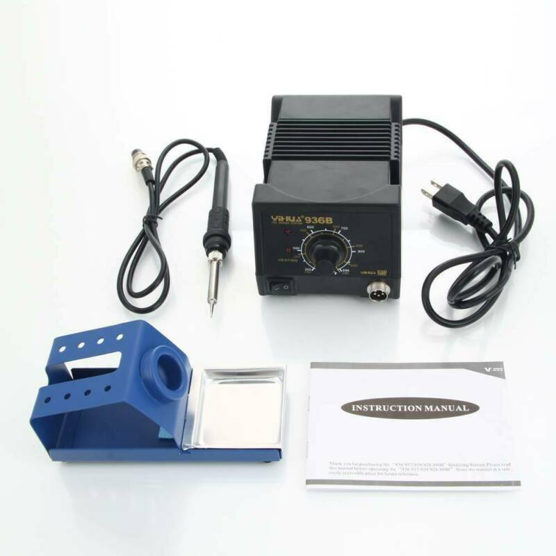 YiHUA-936B Anti-Static Soldering Station + Soldering Iron Kit (US Standard) AFP