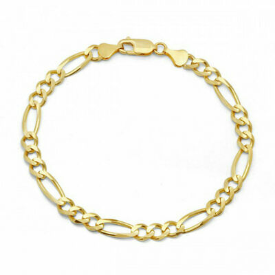 10k Yellow Gold Miami Cuban Link Bracelet, For Men/Women, Franco, Rope Curb