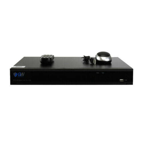 GW 8 Channel PoE NVR H.265 4K IP Security Stand Alone Network Video Recorder