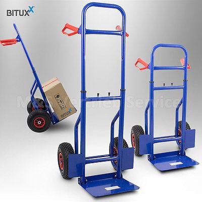 Sackkarre klappbar 200kg mit Luftbereifung Transportkarre Stapelkarre Handkarre