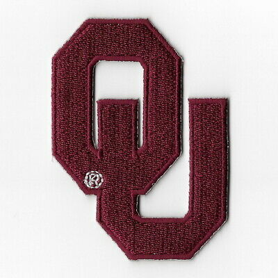 NCAA Oklahoma Sooners Iron on Patches Embroidered Patch Applique Badge Emblem ()