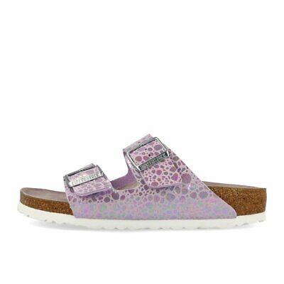 Birkenstock Arizona BF Metallic Stones Lilac Schuhe Sandalen Pantoletten Lila