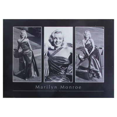 Marilyn Monroe Poster. Classic Movie Poses Vintage Large Retro Poster Print
