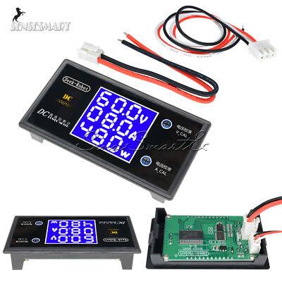 Dc 5a10a 01000w Lcd Voltmeter Wattmeter Voltage Current Power Digital Detector