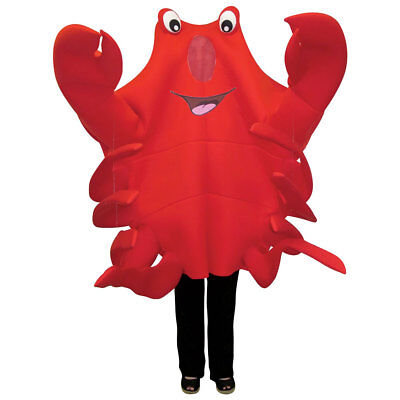Adult Waving Crab Mascot Halloween Costume - Crab Halloween Costume