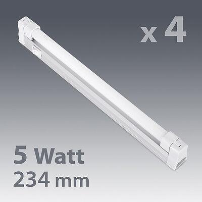 4 x 5W Fluorescent Linkable Under Kitchen Cupboard Cabinet Strip Lights Lighting