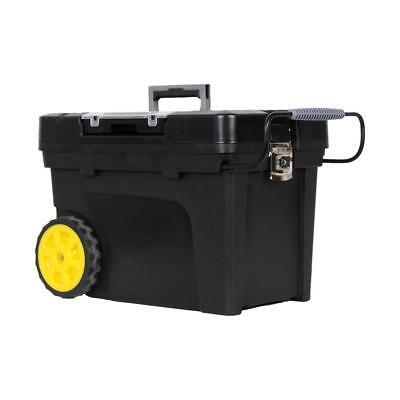 Black Mobile Tool Box - Rolling Tool Box 17 Gal 24