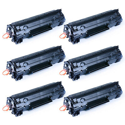 6PK CE278A Toner Cartridge For HP LaserJet Pro P1566/P1560/P1606dn/M1536dnf