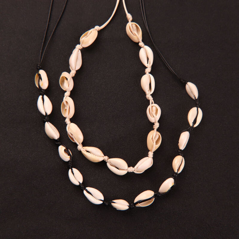 Jewellery - Women Lady Cowrie Shell Collar Choker Necklace Beach Jewelry Hodiday Gifts