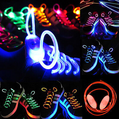 Led Light Shoelaces (LED Shoelaces Flash Light Up Glow Shoestring Shoe Laces For Club Party)