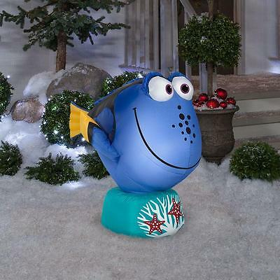 3 Ft Dory Finding Nemo Disney Christmas Airblown Inflatable Yard Birthday Party