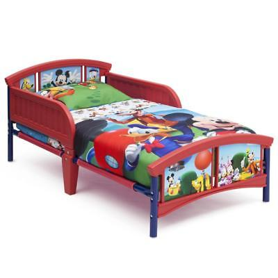 NEW Mickey Mouse Furniture Set Toddler Bed Storage Box Toy Bin Table & Chairs
