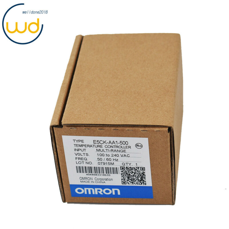 Omron Automation Digital Temperature Controller E5CK-AA1-500 New In Box