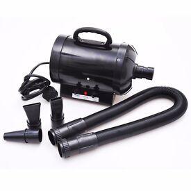 SALE!! 2800WBlack Cat Dog Pet Hair Dryer Blower Heater Low noise. DELIVERY