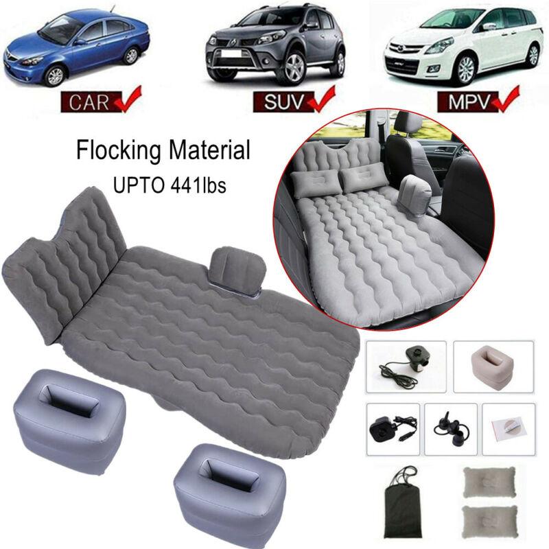 Inflatable Car Air Bed Camping Mattress Back Seat Sleep Trav