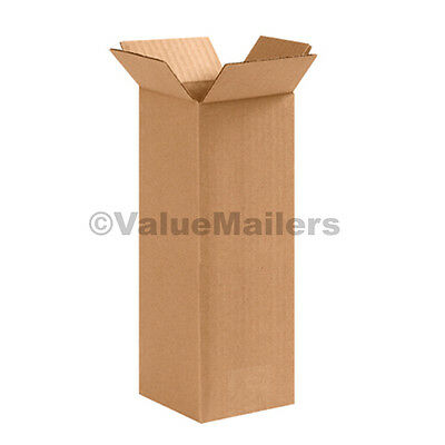 4x4x24 50 Tall Shipping Packing Mailing Moving Boxes Corrugated Cartons