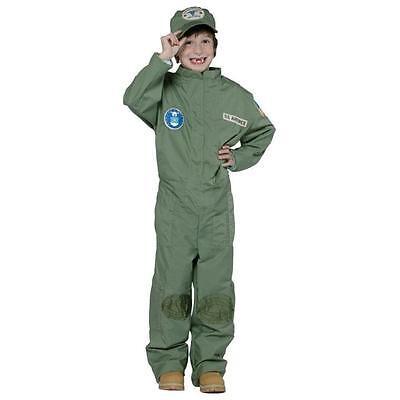 US Air Force Pilot Uniform Military Soldier Child Costume Small - Pilot Uniform Kids