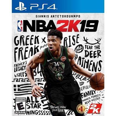 NEW! NBA 2K19 (Playstation 4, PS4) Factory Sealed! FAST FREE SHIPPING!!!