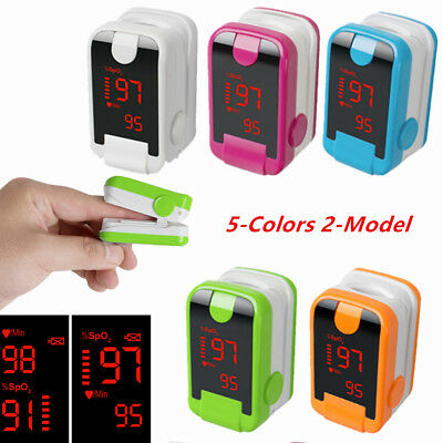 Led Finger Tip Pulse Oximeter-spo2 Pr Oxymeter Blood Oxygen Monitor Oximetry Usa