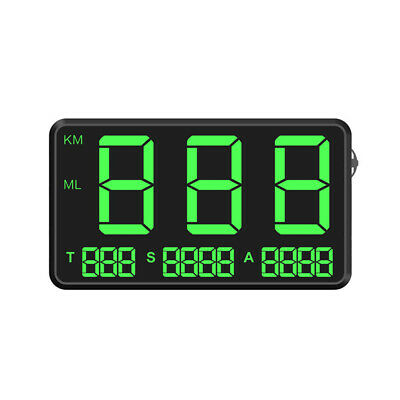 C80 Digital Car GPS Speedometer Speed Display KM/h MPH For Bike Motorcycle Kit