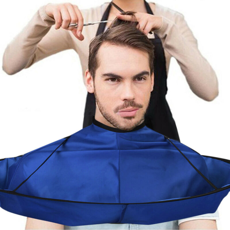Pro Salon Barber Gown Cloth Hair Cutting Cloak Umbrella Home