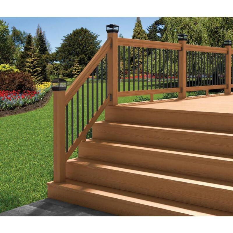 4 Packs: Western Red Cedar Railing Support Wood Block (2-Pack)