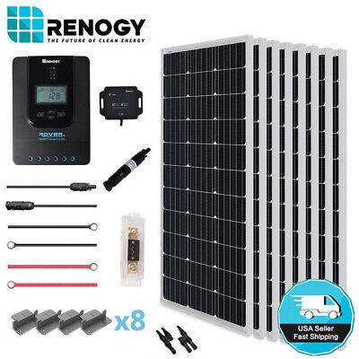 Renogy 800W Mono Solar Panel Premium 24V Kit 40A Solar MPPT Controller Off Grid