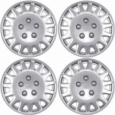 Hubcaps (Set of 4) Fits Select Cars 14