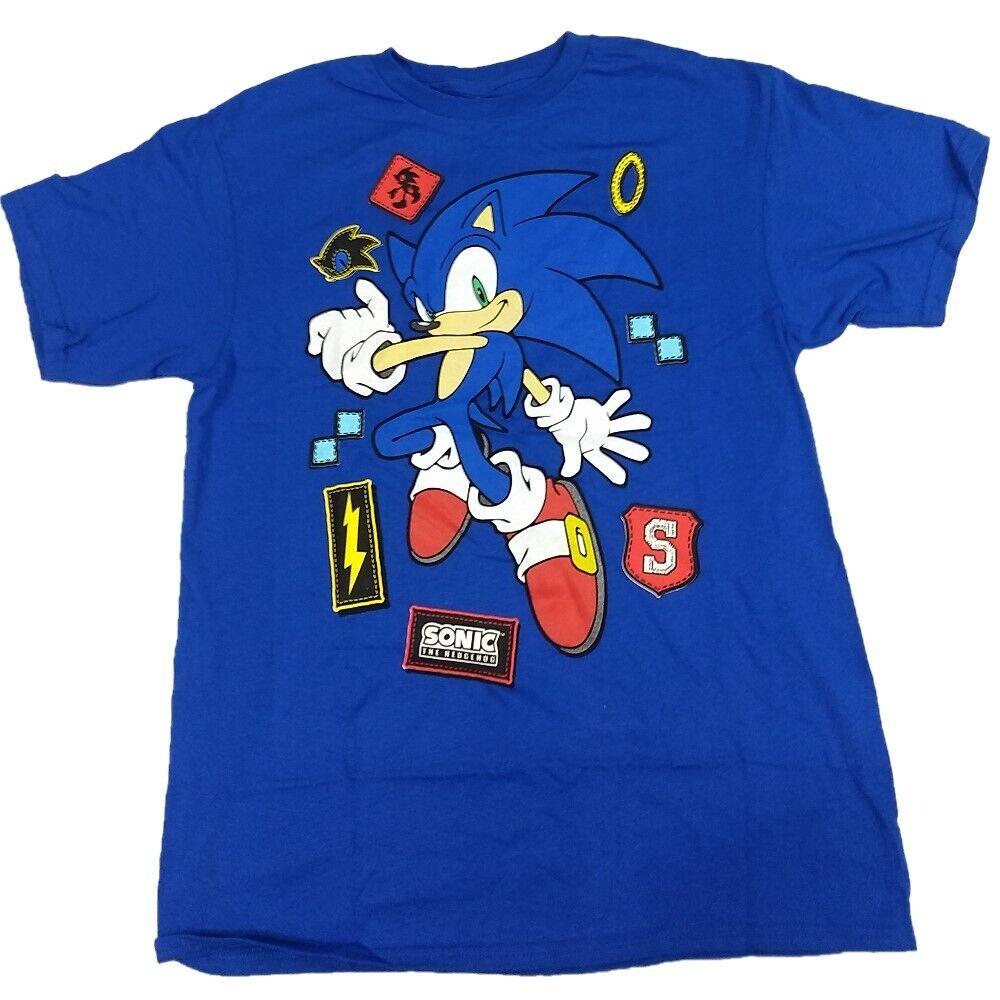 Sonic The Hedgehog Sega T-Shirt Tee Kid Boys