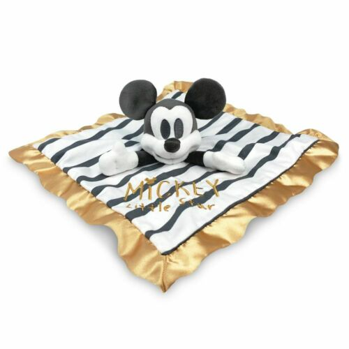 Disney Authentic Mickey Mouse Plush Blanket For Baby NWT