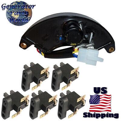 Champion Voltage Regulator 5 Carbon Brush For St05f-1152012 Csa40045 Avr