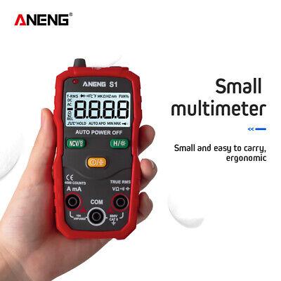 Lcd Auto Range Digital Multimeter Nvc True Acdc Ammeter Resistance Cap Tester