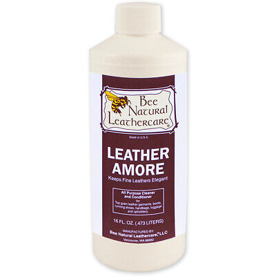 BEE NATURAL TOP QUALITY LEATHER CARE LEATHER AMORE 8OZ U-0149