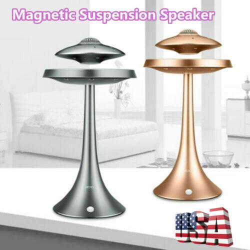 UFO Magnetic Suspension Wireless Levitating Floating Bluetooth Speaker LED Light