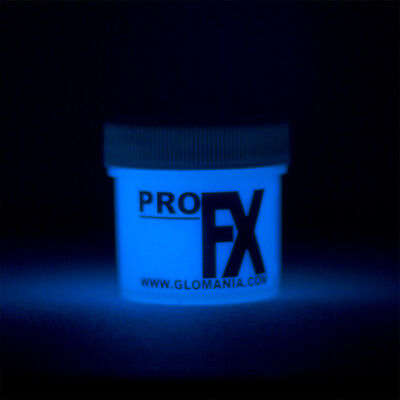 BLUE GLOW in the DARK Daytime Visible & UV Reactive Paint 1oz-2oz - Does Uv Paint Glow In The Dark