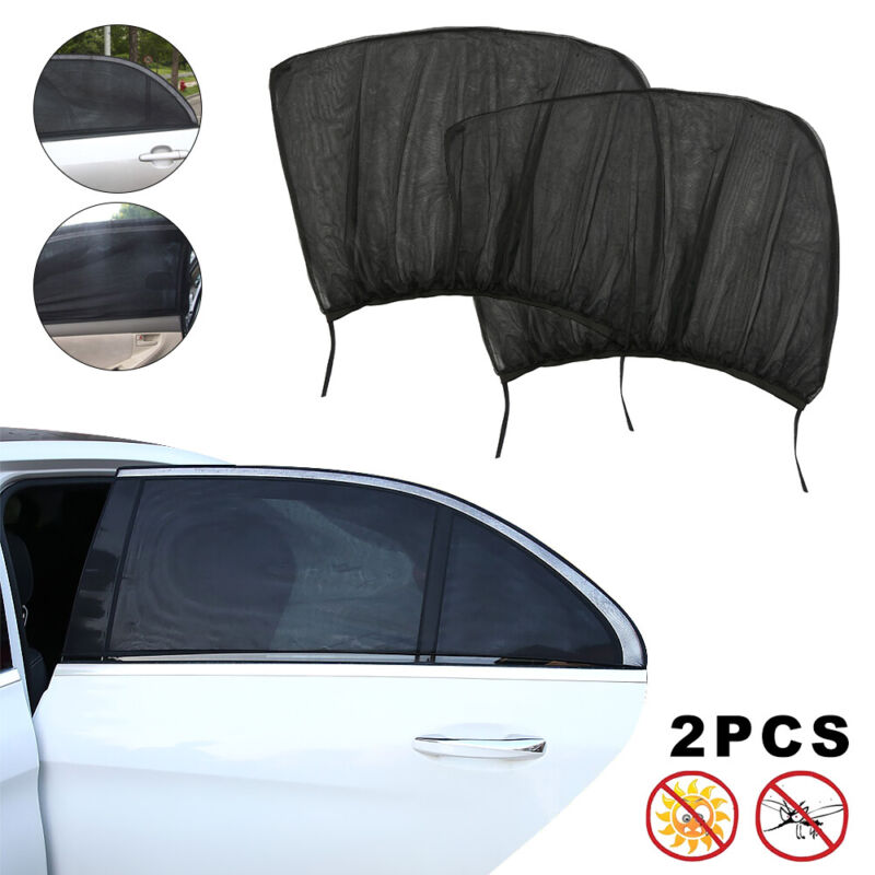2 pack auto sun shade window screen