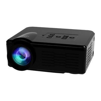 FastFox LCD LED Projector 640x480 800 Lumen HD Home Theater Support HDMI VGA AV