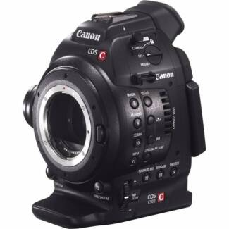 Canon EOS C100 MK1 - In Case,Charger,3xBatteries and Cables
