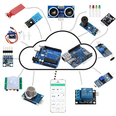 Arduino Iot Starter Kit Internet Of Things Android Ios Remote Control Uno R3