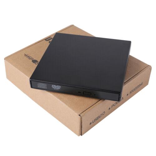 Slim External USB 2.0 CD DVD RW ROM Writer Drive Burner Read