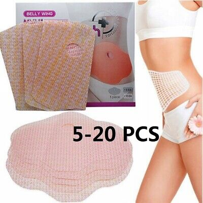 5/20 PCS Slim Patch Slimming Patches Body Wraps Weight Loss Fat Burning - Slimming Body Wraps