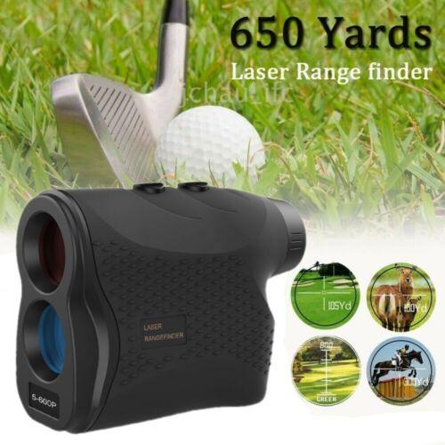 650 YD Golf Rangefinder Laser Range Finder Flag Lock Vibrati