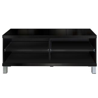 High Gloss Adjustable TV Stand Entertainment Unit 190 cm Black Sydney City Inner Sydney Preview