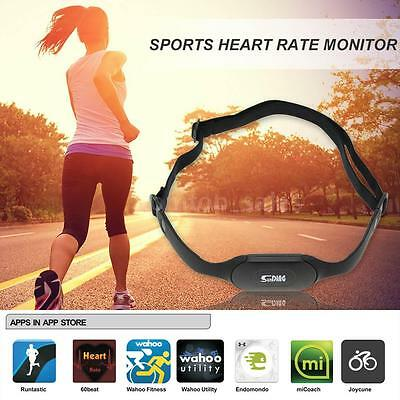 Android iPhone Bluetooth 4.0 Wireless Sport Heart Rate Monitor Fitness New D5Q7