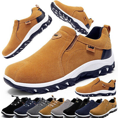 Men's Shoes Outdoor Breathable Casual Sneakers Running Walking Shoes best (Best Rubber Shoes For Men)