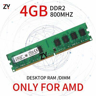 Para Kingston 4GB 2GB 1GB DDR2 800MHz CL6 240Pin AMD DIMM RAM Desktop Memory SP