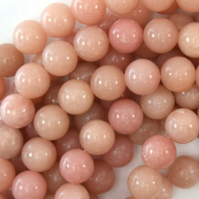 Pink Opal Round Beads Gemstone 15.5